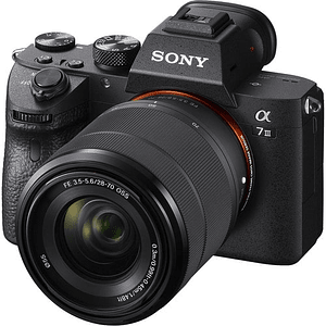 Sony Alpha a7 III Kit Cámara Full-Frame Mirrorless con Lente 28-70mm