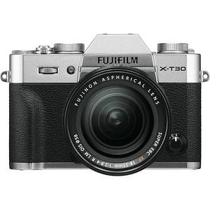 Fujifilm X-T30 Kit Cámara Mirrorless con Lente XF 18-55mm f/2.8-4 R LM OIS (Silver)