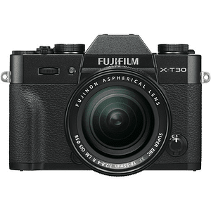 Fujifilm X-T30 Kit Cámara Mirrorless con Lente XF 18-55mm f/2.8-4 R LM OIS (Black)