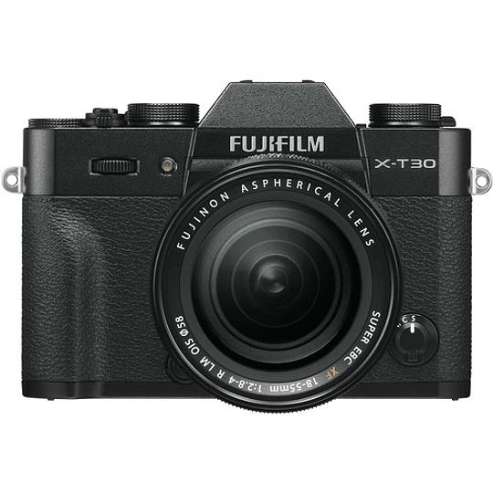 Fujifilm X-T30 Kit Cámara Mirrorless con Lente XF 18-55mm f/2.8-4 R LM OIS (Black) - Image 1