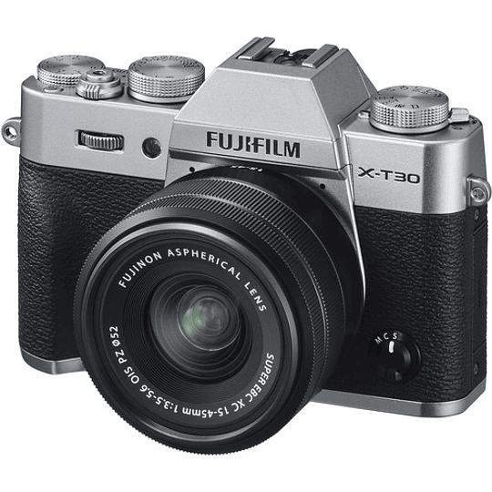 Fujifilm X-T30 Kit Cámara Mirrorless con Lente XC 15-45mm f/3.5-5.6 OIS PZ (Silver) - Image 2