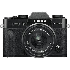 Fujifilm X-T30 Kit Cámara Mirrorless con Lente XC 15-45mm f/3.5-5.6 OIS PZ (Black)