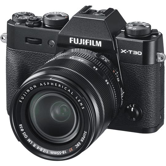 Fujifilm X-T30 Kit Cámara Mirrorless con Lente XF 18-55mm f/2.8-4 R LM OIS (Black) - Image 2