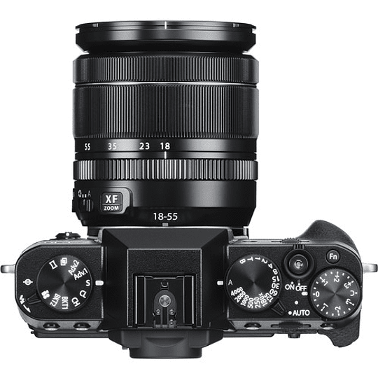 Fujifilm X-T30 Kit Cámara Mirrorless con Lente XF 18-55mm f/2.8-4 R LM OIS (Black) - Image 4