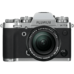 Fujifilm X-T3 Kit Cámara Mirrorless con Lente XF 18-55mm f/2.8-4 R LM OIS (Silver)