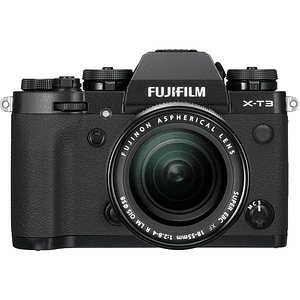 Fujifilm X-T3 Kit Cámara Mirrorless con Lente XF 18-55mm f/2.8-4 R LM OIS (Black)