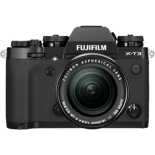 Fujifilm X-T3 Kit Cámara Mirrorless con Lente XF 18-55mm f/2.8-4 R LM OIS (Black) - Image 1