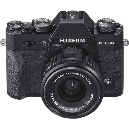 Fujifilm X-T30 Kit Cámara Mirrorless con Lente XC 15-45mm f/3.5-5.6 OIS PZ (Black) - Image 5