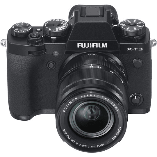 Fujifilm X-T3 Kit Cámara Mirrorless con Lente XF 18-55mm f/2.8-4 R LM OIS (Black) - Image 2