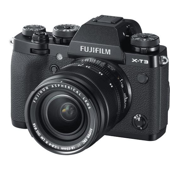 Fujifilm X-T3 Kit Cámara Mirrorless con Lente XF 18-55mm f/2.8-4 R LM OIS (Black) - Image 3