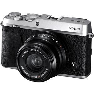Fujifilm Kit Cámara Mirrorless X-E3 SILVER con Lente 23mm f2