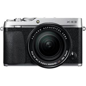 Fujifilm Kit Cámara Mirrorless X-E3 SILVER con Lente 18-55mm F/2.8-4 R LM OIS