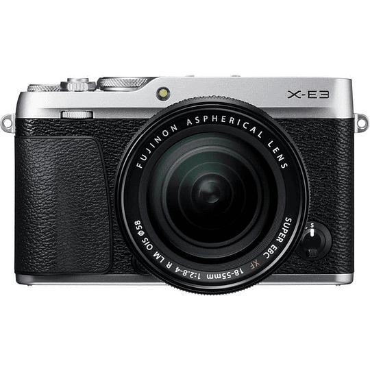Fujifilm Kit Cámara Mirrorless X-E3 SILVER con Lente 18-55mm F/2.8-4 R LM OIS - Image 1