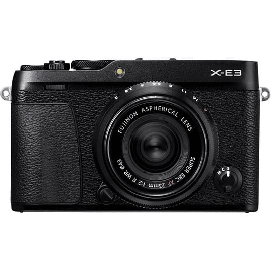 Fujifilm Kit Cámara Mirrorless X-E3 Black con Lente 23mm f2 - Image 1