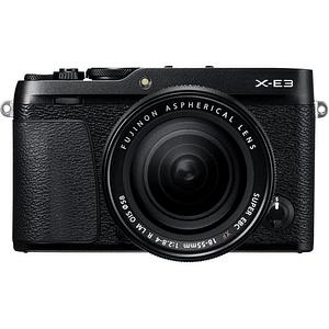 Fujifilm Kit Cámara Mirrorless X-E3 BLACK con Lente 18-55mm F/2.8-4 R LM OIS