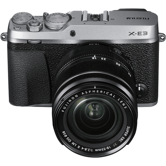 Fujifilm Kit Cámara Mirrorless X-E3 SILVER con Lente 18-55mm F/2.8-4 R LM OIS - Image 3