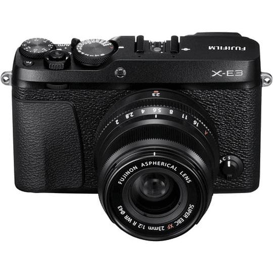 Fujifilm Kit Cámara Mirrorless X-E3 Black con Lente 23mm f2 - Image 3