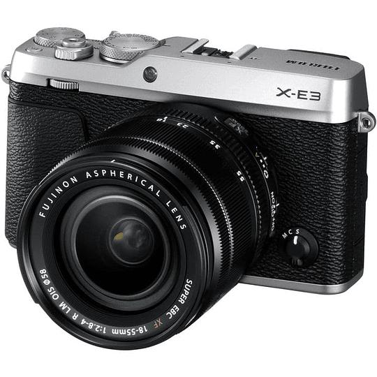 Fujifilm Kit Cámara Mirrorless X-E3 SILVER con Lente 18-55mm F/2.8-4 R LM OIS - Image 4