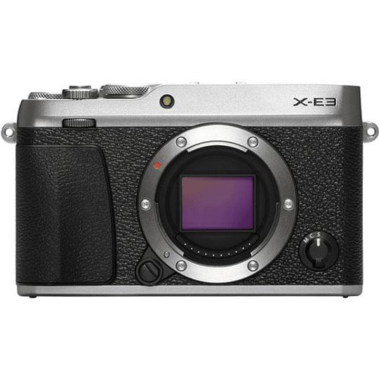 Fujifilm Cámara Mirrorless X-E3 SILVER (solo cuerpo) - Image 1