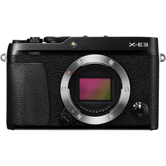 Fujifilm Cámara Mirrorless X-E3 Black (solo cuerpo) - Image 1