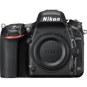 Nikon D750 DSLR (solo cuerpo)