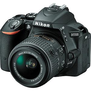 Nikon D5500 DSLR Kit Cámara Réflex Digital con Lente 18-55mm VR II