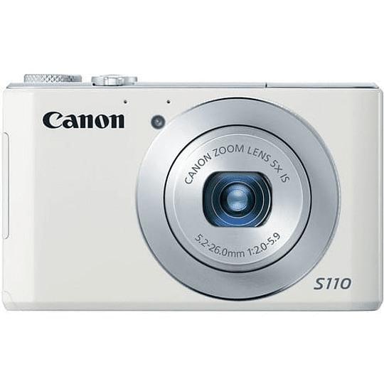 Canon PowerShot S110 Cámara Digital (White) - Image 1