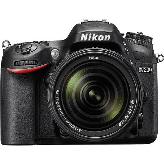 Nikon D7200 cámara réflex digital con lente 18-140mm - Image 1