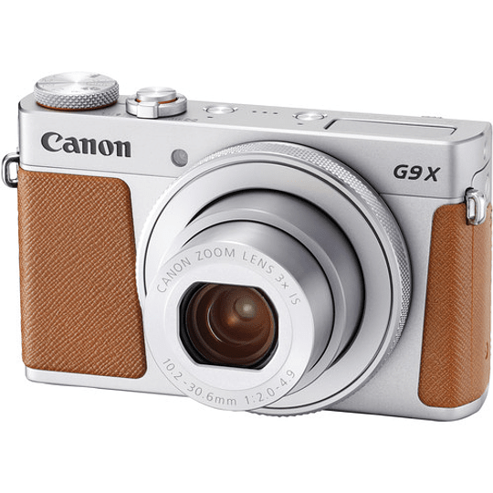 Canon PowerShot G9 X Mark II Cámara Digital (Silver) - Image 1