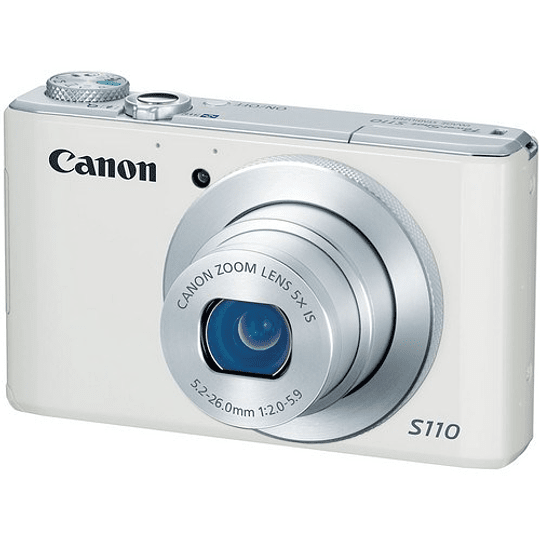 Canon PowerShot S110 Cámara Digital (White) - Image 3