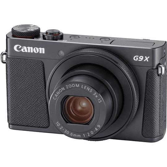 Canon PowerShot G9 X Mark II Cámara Digital (Black) - Image 1