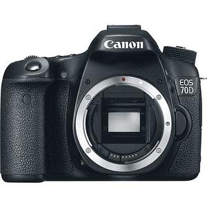Cámara Canon EOS 70D DSLR (Sólo Cuerpo)