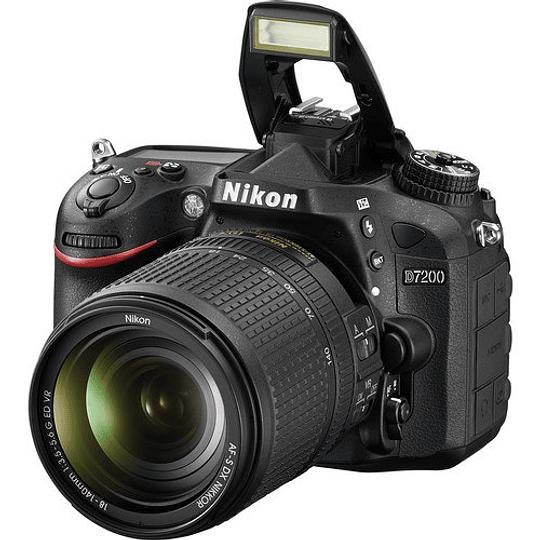 Nikon D7200 cámara réflex digital con lente 18-140mm - Image 4