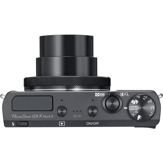 Canon PowerShot G9 X Mark II Cámara Digital (Black) - Image 4