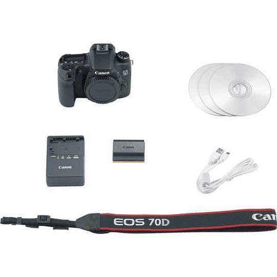 Cámara Canon EOS 70D DSLR (Sólo Cuerpo) - Image 4