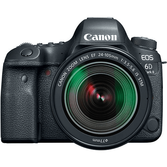 Canon cámara EOS 6D Mark II con Lente 24-105mm f/3.5-5.6 - Image 1