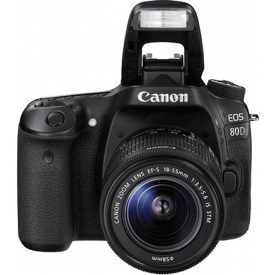 Canon cámara EOS 80D con lente 18-55mm - Image 2