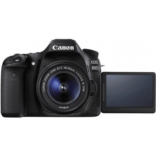 Canon cámara EOS 80D con lente 18-55mm - Image 3
