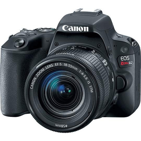 Canon Cámara EOS Rebel SL2 con Lente EF-S 18-55mm f/4-5.6 IS STM - Image 1