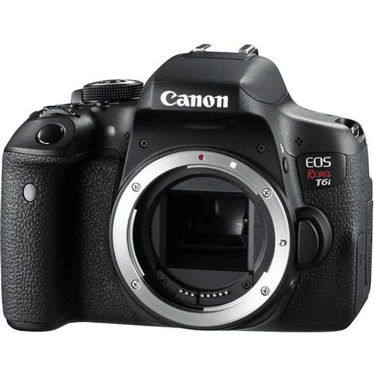 Canon cámara EOS Rebel DSLR T6i (Sólo Cuerpo) - Image 1