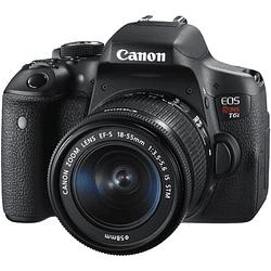 Canon cámara EOS Rebel T6i con lente 18-55mm