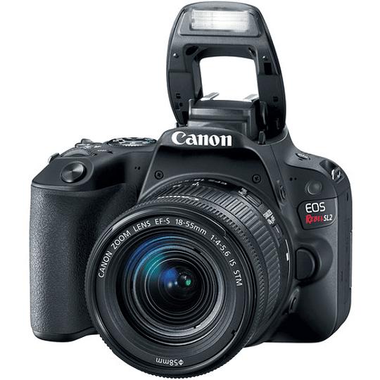 Canon Cámara EOS Rebel SL2 con Lente EF-S 18-55mm f/4-5.6 IS STM - Image 2