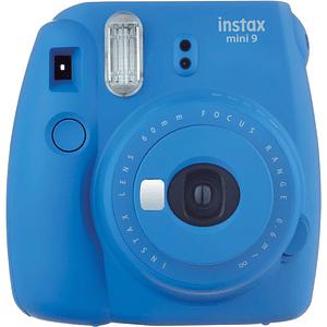 FUJIFILM INSTAX Mini 9 Cámara Instantánea (Cobalt Blue)