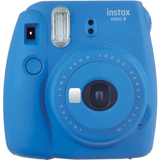 FUJIFILM INSTAX Mini 9 Cámara Instantánea (Cobalt Blue) - Image 1