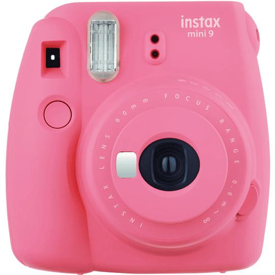 FUJIFILM INSTAX Mini 9 Cámara Instantánea (Flamingo Pink) - Image 1