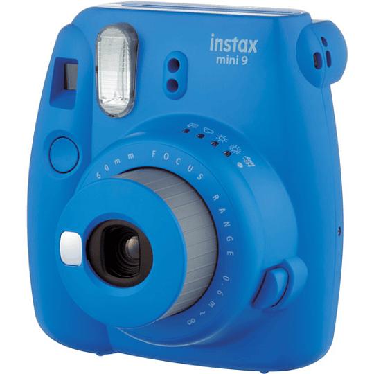 FUJIFILM INSTAX Mini 9 Cámara Instantánea (Cobalt Blue) - Image 3