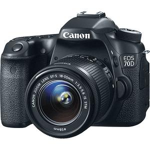 Canon cámara réflex digital EOS 70D con 18-55 mm f / 3.5-5.6