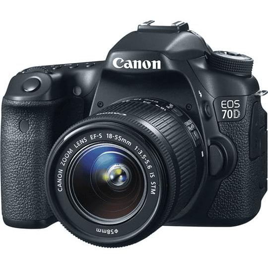 Canon cámara réflex digital EOS 70D con 18-55 mm f / 3.5-5.6 - Image 1