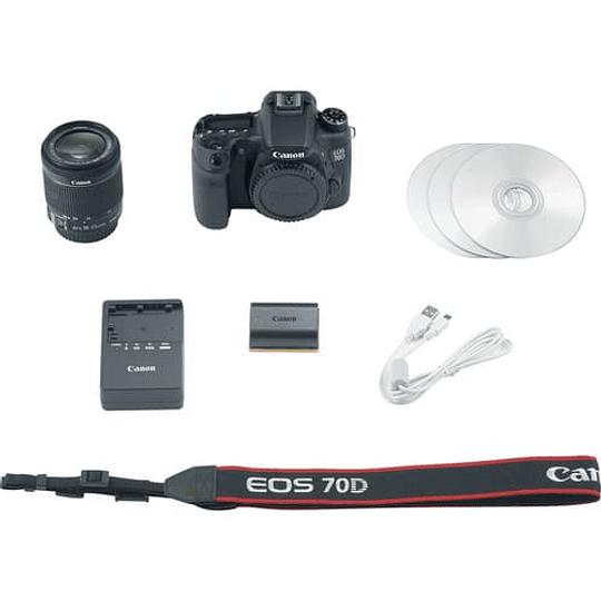 Canon cámara réflex digital EOS 70D con 18-55 mm f / 3.5-5.6 - Image 4