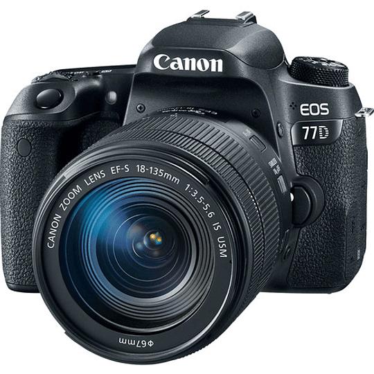 Canon EOS 77D DSLR Cámara con Lente 18-135mm USM - Image 1